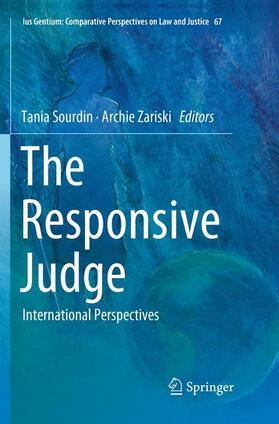 Sourdin / Zariski | The Responsive Judge | Buch | sack.de