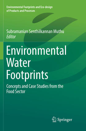 Muthu | Environmental Water Footprints | Buch | sack.de