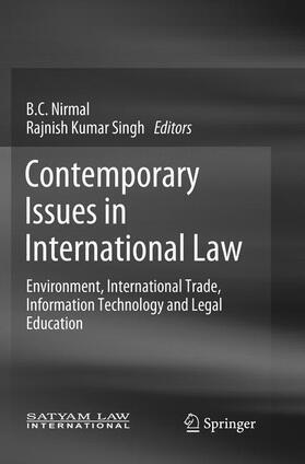 Nirmal / Singh   Contemporary Issues in International Law   Buch   sack.de