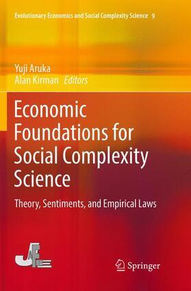 Kirman / Aruka   Economic Foundations for Social Complexity Science   Buch   sack.de