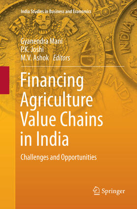 Ashok / Joshi / Mani | Financing Agriculture Value Chains in India | Buch | sack.de
