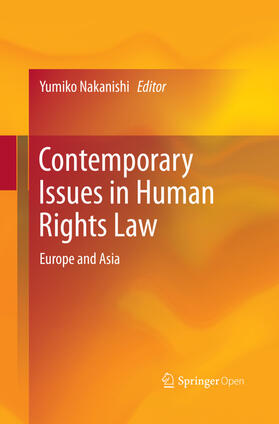 Nakanishi | Contemporary Issues in Human Rights Law | Buch | sack.de