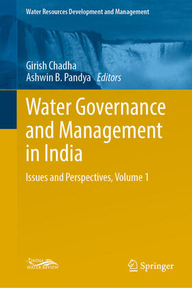 Chadha / Pandya   Water Governance and Management in India   Buch   sack.de