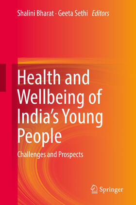 Bharat / Sethi   Health and Wellbeing of India's Young People   Buch   sack.de