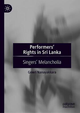 Nanayakkara | Performers' Rights in Sri Lanka | Buch | sack.de