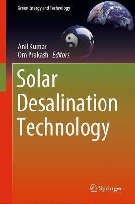 Kumar / Prakash   Solar Desalination Technology   Buch   sack.de