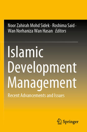 Hasan / Said / Sidek | Islamic Development Management | Buch | sack.de