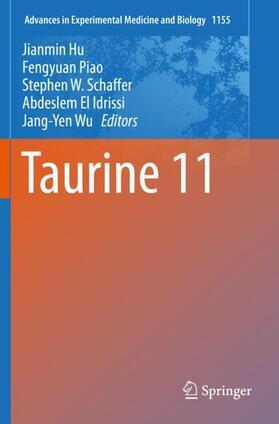 Hu / Piao / Schaffer   Taurine 11   Buch   sack.de