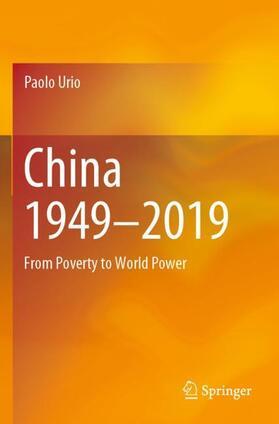 Urio | China 1949-2019 | Buch | sack.de