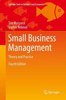 Mazzarol / Reboud   Small Business Management   Buch   sack.de