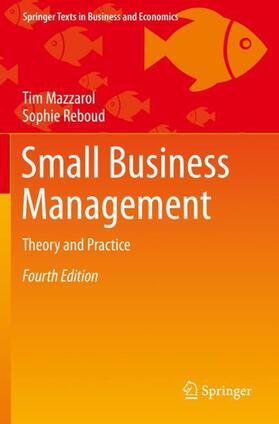 Mazzarol / Reboud | Small Business Management | Buch | sack.de