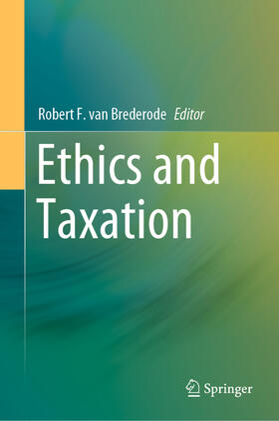 van Brederode | Ethics and Taxation | Buch | sack.de