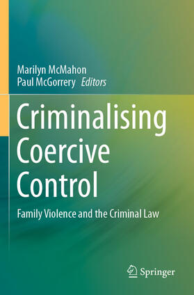 McMahon / McGorrery   Criminalising Coercive Control   Buch   sack.de
