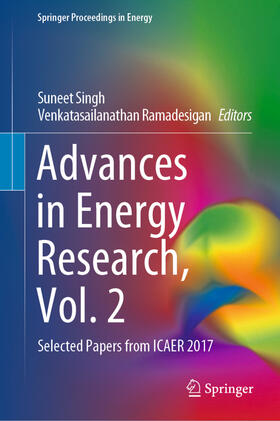 Singh / Ramadesigan | Advances in Energy Research, Vol. 2 | Buch | sack.de