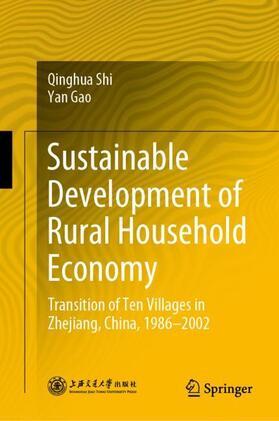 Shi / Gao | Sustainable Development of Rural Household Economy | Buch | sack.de