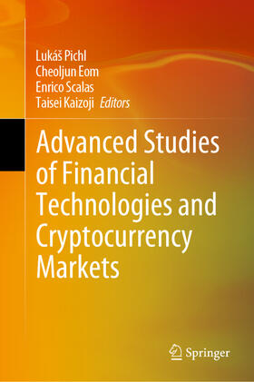 Kaizoji / Scalas / Eom   Advanced Studies of Financial Technologies and Cryptocurrency Markets   Buch   sack.de