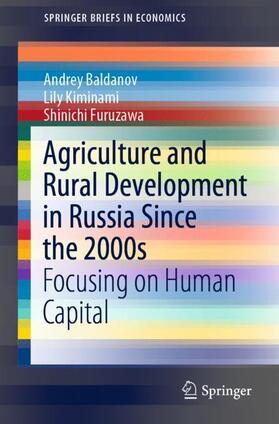 Baldanov / Kiminami / Furuzawa | Agriculture and Rural Development in Russia Since the 2000s | Buch | sack.de