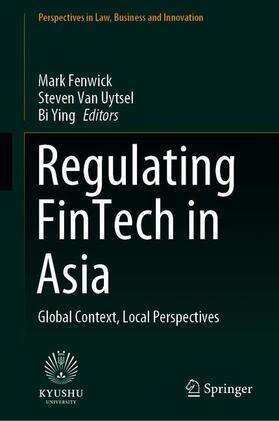 Fenwick / Ying / Van Uytsel | Regulating FinTech in Asia | Buch | sack.de