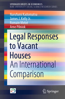 Kadomatsu / Kelly Jr. / Melot | Legal Responses to Vacant Houses | Buch | sack.de