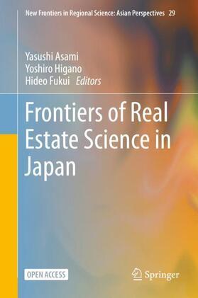 Asami / Fukui / Higano   Frontiers of Real Estate Science in Japan   Buch   sack.de