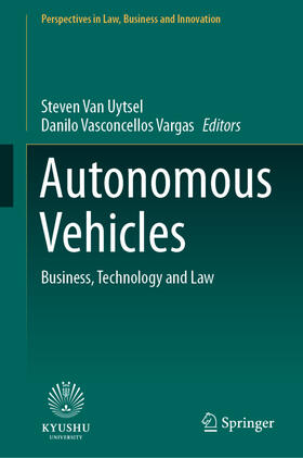 Vasconcellos Vargas / Van Uytsel   Autonomous Vehicles   Buch   sack.de