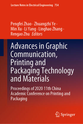 Zhao / Ye / Xu | Advances in Graphic Communication, Printing and Packaging Technology and Materials | Buch | sack.de