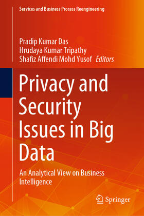 Das / Tripathy / Mohd Yusof | Privacy and Security Issues in Big Data | Buch | sack.de