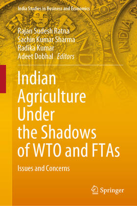 Sudesh Ratna / Dobhal / Kumar   Indian Agriculture Under the Shadows of WTO and FTAs   Buch   sack.de