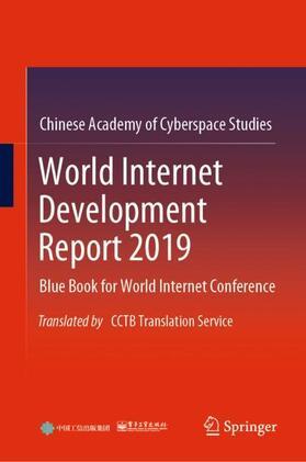 Chinese Academy of Cyberspace Studies | World Internet Development Report 2019 | Buch | sack.de